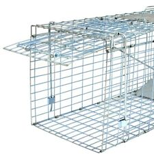 "Live Animal Trap Extra Large Rodent Cage Garden Rabbit Raccoon Cat 32"" x 12.5"""