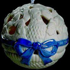Wedgwood Ornament Jasperware Three 3 French Hens 12 Days Christmas Nib