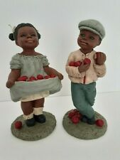 New ListingAll God's Children M. Holcombe Orig Figurines ~ Adam 231 & Tara 236 (1989) Mint!