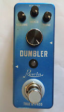 ROWIN MINI DUMBLER, (DUMBLE AMP SIMULATOR)  EFFECT PEDAL WITH TRUE BY PASS