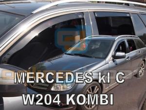 2014 4-tlg HEKO dunkel Windabweiser MERCEDES C-Klasse W205 Kombi 5-türer ab Bj