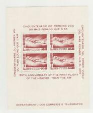Brazil, Postage Stamp, #C86A Mint NH Sheet, 1956 Airplane