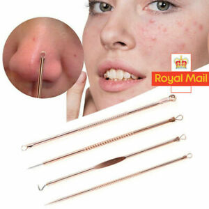 Blackhead Pimple Comedone Spot Acne Extractor Remover Kit Popper Blemish Tool