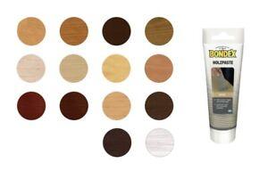 Bondex 120 g Holzpaste füllt Löcher, Fugen, Risse, Holzoberflächen, Farbwahl