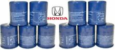 Set 10 Genuine Honda Acura Oil Filters With Drain Plug Washers 15400-Plm-A02