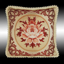 """LUXURY DAMASK SOFT VELVET TAPESTRY THROW PILLOW CASE CUSHION COVER CHAIR PAD 20"""""""