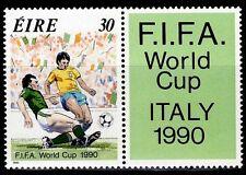 SELLOS DEPORTES IRLANDA  1990 716 FUTBOL ITALIA 1990 1v.