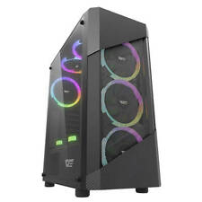 PC-Gehäuse Gaming Case ATX, M-ATX, ITX Midi Tower 3.0 USB , schwarz