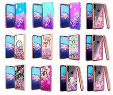 For Motorola Moto E (2020) Xt2052Dl / Moto E7 Liquid Glitter Case Phone Cover