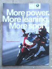 BMW R1200S Genuine 2006 Motorcycle Magazine Page Sales Ad Advertisement Brochure