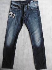 Replay Frankygo M982 Tapered aged blue Denim Jeans Hose W31/L34 neuw. $715