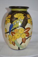Boch Keramis Belgian Parrot Vase (multi color)