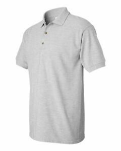 Gildan Mens Short Sleeve Blank Ultra Cotton Pique Sport Shirt 3800 up to 3XL