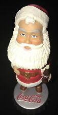 Coke Coca Cola Bobble Head Santa Claus Mint Condition Christmas On Soda Cap Cute