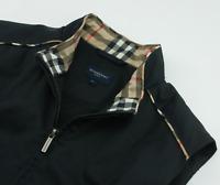 Burberry Nova Check Golf Vest Sleeveless Jacket Gilet Womens Size L Large 10 12