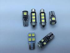 AUDI TT TTS 8J FULL LED Interior Lights KIT Set 6 pcs SMD Bulbs White GR