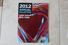 United Nations 2012 Annual Collection with MNH Stamps and First Day Covers