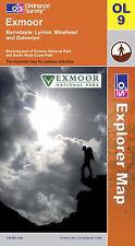 Exmoor (OS Explorer Map), Ordnance Survey, Good, Paperback