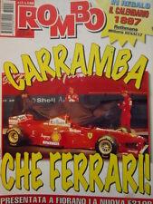 Auto & Sport ROMBO 1-2 1997 presentazione della nuova Ferrari F310B