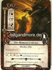 Lord of the Rings LCG  - 2x Ork-Armbrustschützen  #057 - Die Erben von Numenor