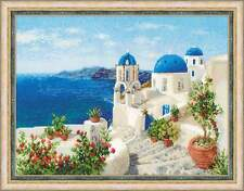 "Counted Cross Stitch Kit RIOLIS - ""Santorini"""