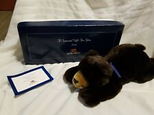 "Bank of the West Plush Teddy Bear, in Box, 17"" long"