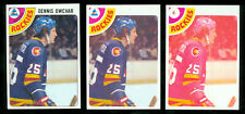 1978-79 TOPPS DENNIS OWCHAR # 19 PROGRESSIVE PROOF SET of 7 MINT UNIQUE 2-LOA's