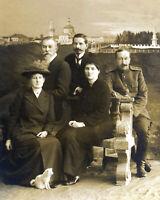 The Romanov Entourage-Anastasia-Prince Dolgorukov & Others-1916 Photo