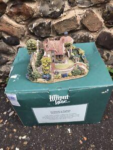 Scotney Castle Garden L2103 Lilliput Lane LtdEdition Original box and deeds 3300