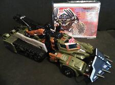 Transformers G1 LANDSHARK ( Landmine repaint ) Botcon 2009 Timelines