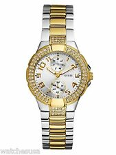 GUESS Status In-the-Round Two-tone Multi-function Watch U13586L1