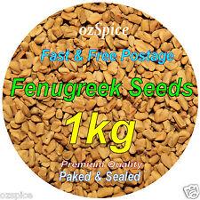 Fenugreek Seeds 1kg - Herbs Teas Chillies & Spices - ozSpice