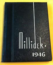1946 James Millikin University Yearbook Decatur, Illinois MILLIDEK - GREAT