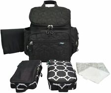 Terra Baby Diaper Bag Backpack Organizer with Stroller Straps and Changing Pad,