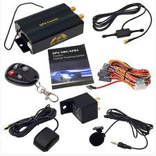 ~GPS Tracker Tracking Car Auto With Remote Control GSM Alarm Anti-theft TK10103B