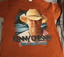 Kenny Chesney Goin Coastal 2011 2 Sided T-shirt Size Medium