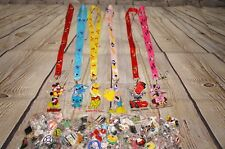 Disney World Pin Trading Lot Lanyard Starter Set Princess Minnie Mickey Stitch