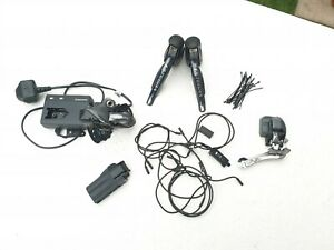 SHIMANO Ultegra 6770 Di2 COMPLETE KIT with Cable/Junctions  -  2x10 Speed Di2