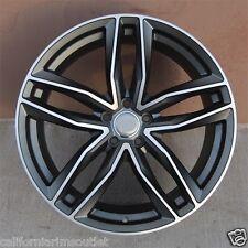 "22"" WHEELS RIMS FOR AUDI A7 S7 A8 S8 Q5 Q7 VW TIGUAN 22X9.5 ET.30 5X112"