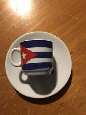 NEW CUBA Flag Coffee cup
