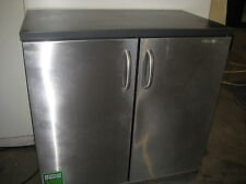 Gamko Back Bar - Double Door - Commercial - Storage Chiller - Stainless Steel