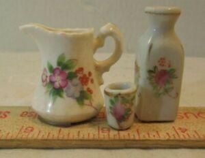VINTAGE Miniature / FLOWER  VASE PITCHER CUP PORCLAIN