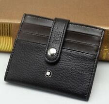 Montblanc Leather Card Clip Wallet