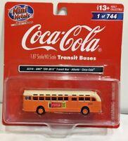 Classic Metal Works 32316 HO Coca-Cola GMC TDH-3610 Bus Atlanta ho scale 1:87