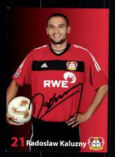 Radoslaw Kaluzny Autogrammkarte Bayer Leverkusen 2003-04 Original + A 190177