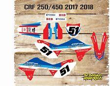 HONDA CRF 450 17/18 CRF 250 2018 FULL GRAPHICS KIT-STICKER KIT-DECALS-MX-