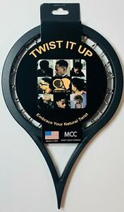 Twist It Up Comb Embrace Natural Twist Colors Black, Red, Blue, & Yellow NEW