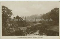 Sheffield, Stepping Stones Rivelin Valley 1932 Real Photo Postcard, C023