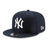Youths New York Yankees New Era MLB Core Hex 9FIFTY Snapback Hat - Navy