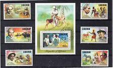 Liberia Personajes Dr Albert Schweitzer año 1975 (DK-274)